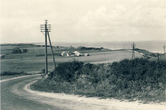 Ebbeløkke Bakke 1950
